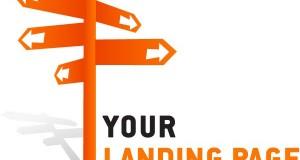 Aplicación actual de una landing page