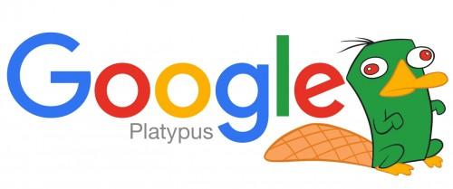 ornitorrinco de google algoritmo
