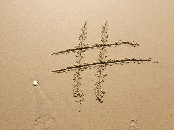 10 años del primer hashtag